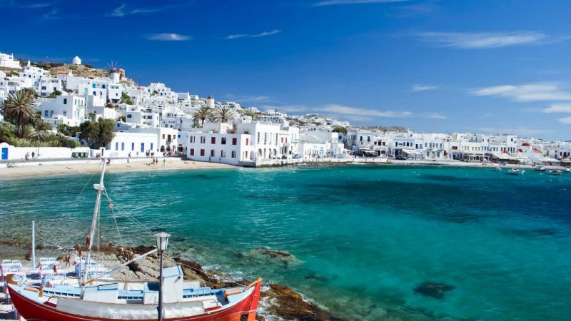 Greece Island Hopping - Athens - Mykonos - Paros - Santorini - 10 nights
