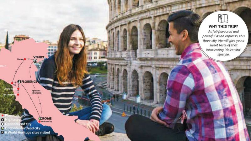 Italy - Italian Espresso for 18 to 35 year olds - Last Minute Deal for Set dep. - 07 Apr.18