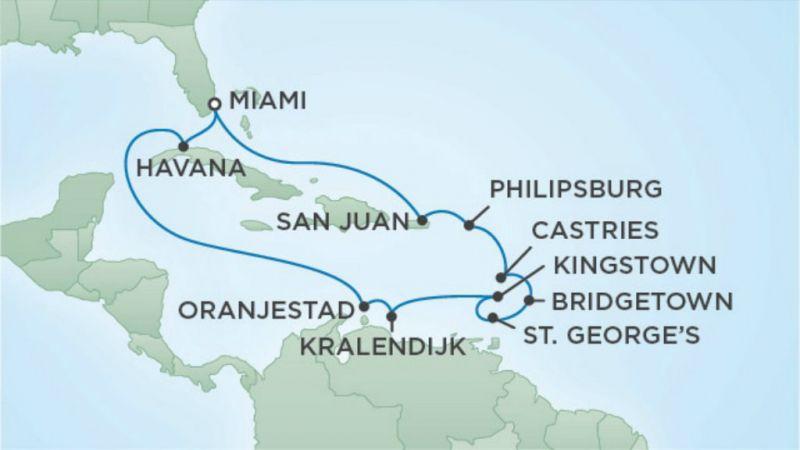 Miami Cruise - Havana Rhythms and Caribbean Dreams - Seven Seas Navigator