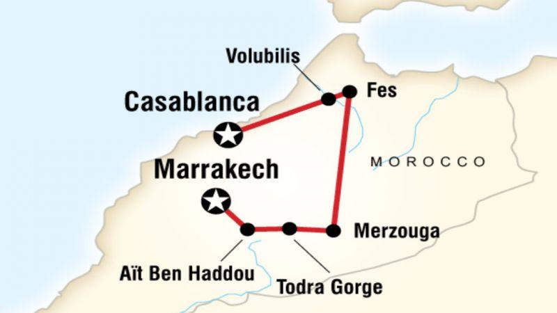 Morocco - Kasbahs and Desert - Casablanca to Marrakech - 8 Days