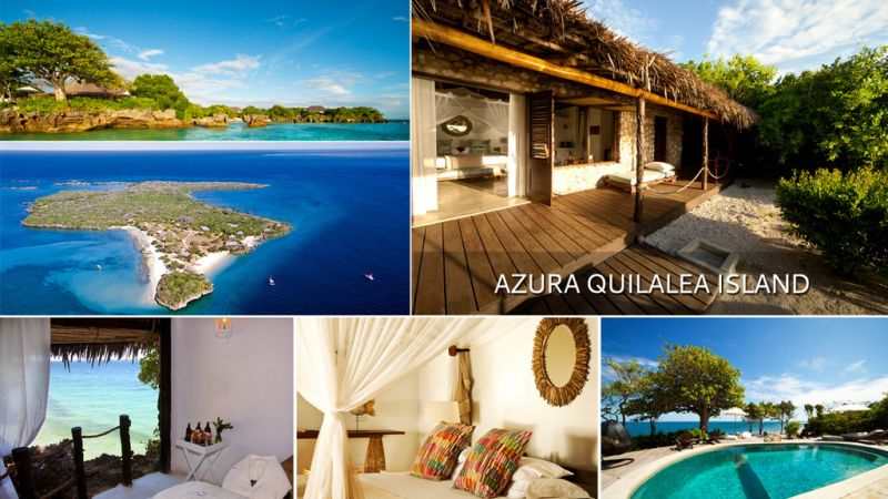 Mozambique Islands - 5 star Azura Quilalea Private Island Retreat