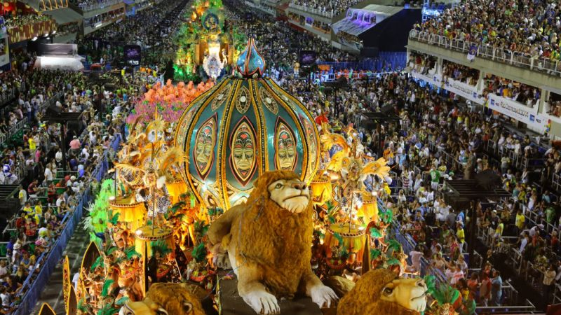 Rio Carnival - calling all party animals - 09 to 14 Feb.18