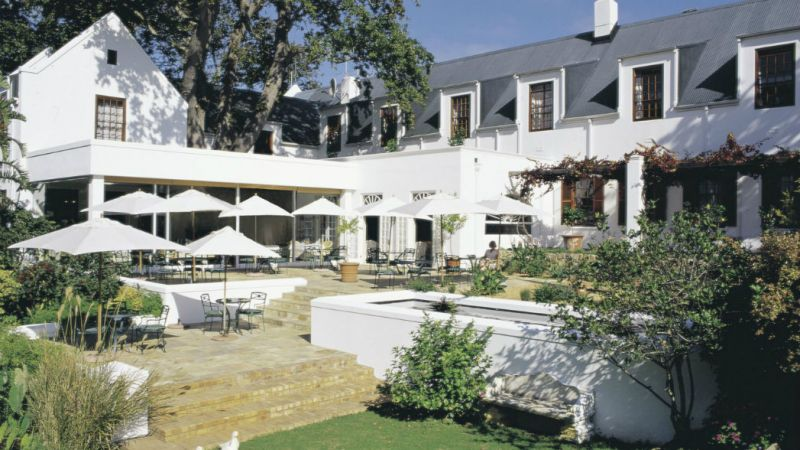The 5* Cellars-Hohenort Hotel & Spa- Cape Town - 3 Nights