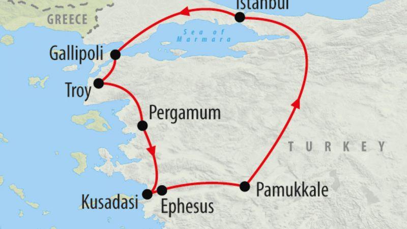 Turkey - Aegean Explorer - 7 Days