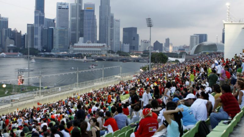 Photo of package Singapore Formula 1 Grand Prix - Marnia Bay Street Circuit - 3 Nights 20-23 Sept.19