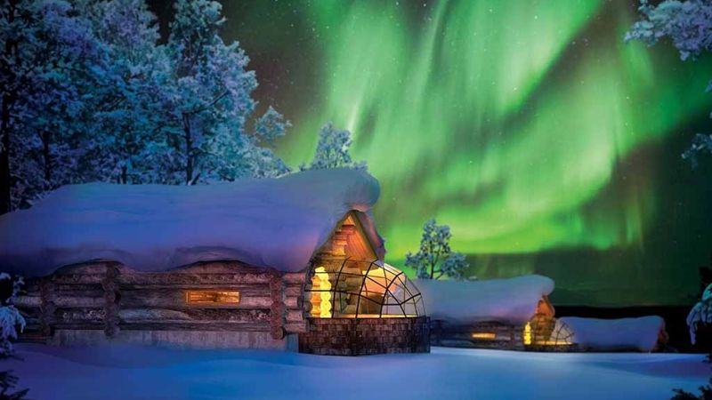 Photo of package Finland - Northern Lights - Kakslauttanen Arctic Resort - 4 spectacular nights!