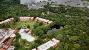 Escape to the stunning 4 star Avani Victoria Falls Resort