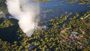 Escape to the stunning 4 star Avani Victoria Falls Resort