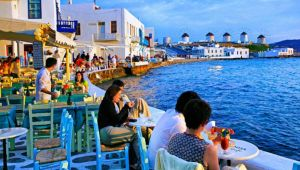 Greek Cyclades Island Adventure  - Athens - Mykonos - Santorini - 8 Days