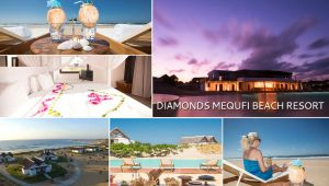 Mozambique - 5 star Diamonds Mequfi - 4 nights - ALL INCLUSIVE