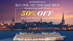 Western Med Cruise - Norwegian Epic - Buy One Get One Half Price