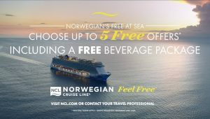 Western Med Cruise - Norwegian Epic - Free at Sea Promo - set dep. 30 Oct.19