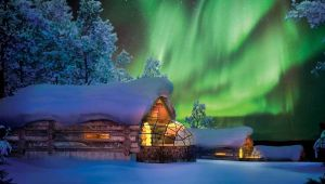 Finland - Northern Lights - Kakslauttanen Arctic Resort - 4 spectacular nights!